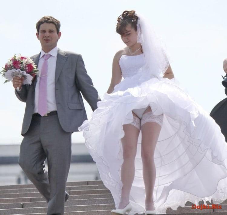 Интимные свадебные фото пары