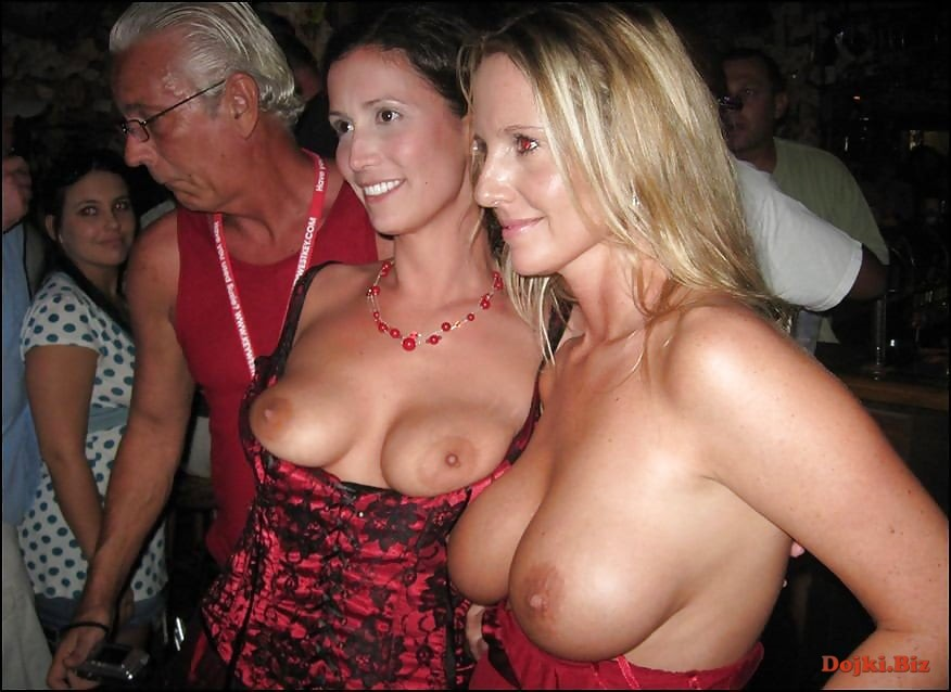 Naked party moms