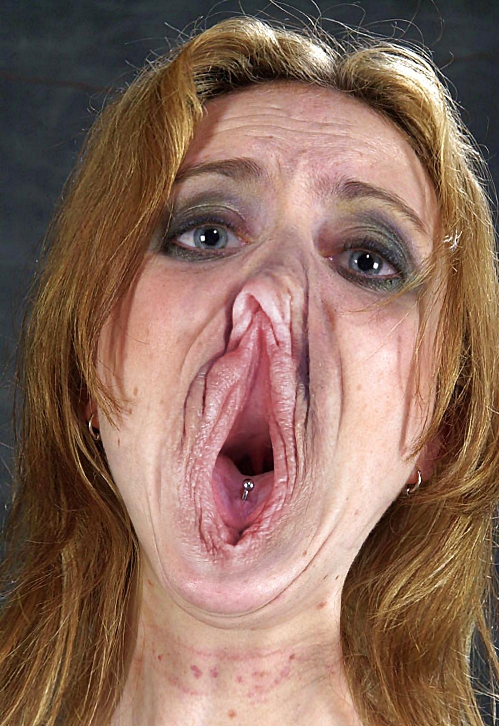 Лицо-влагалище