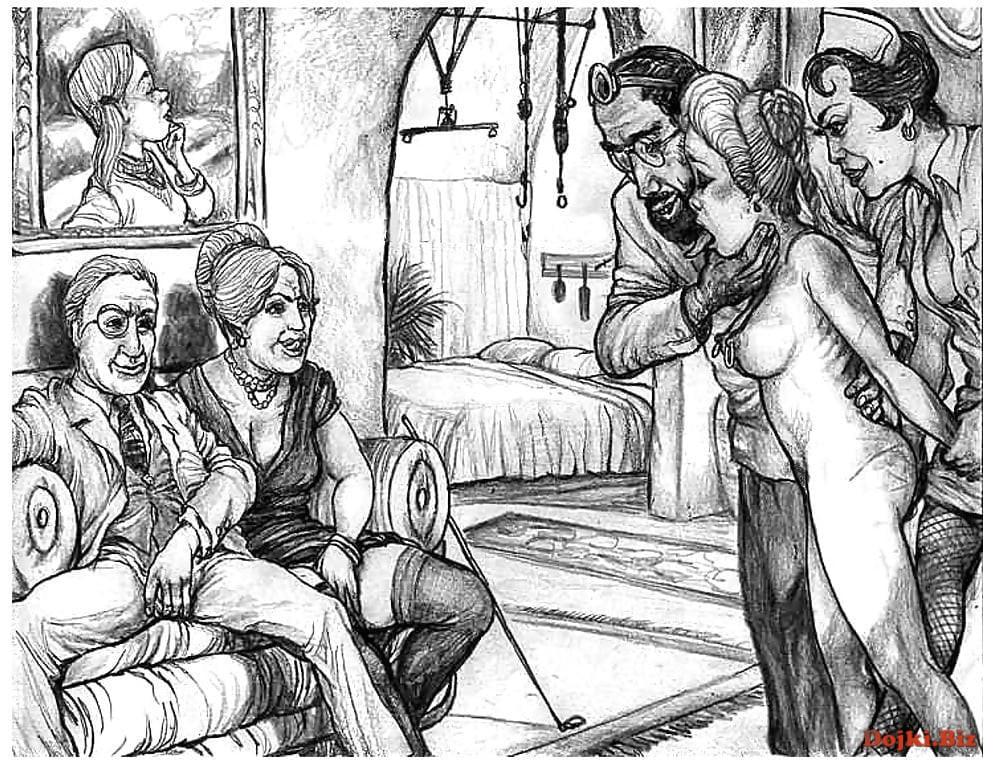 Рисованное порно 1699