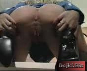 Развратная секретарша светит интимными местами перед боссом