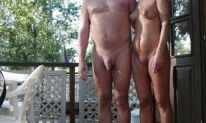 На даче пара голышём фото