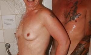 Жена в душе с чужим мужиком фото