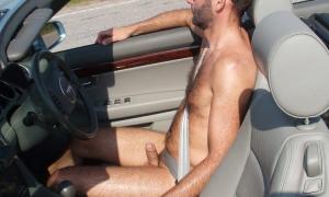 В машине сидит а член стоит фото