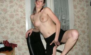 Голая худая женщина 2