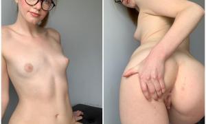 Приватное Бесстыжая чикса делает интимные снимки 27