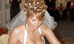 Дойки у невесты зачётные фото