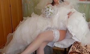 Фото невесты со свадьбы