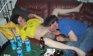 Пьяная развратница на вечеринке 171