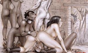 Рисованное порно 1299
