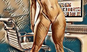 Рисованное порно 1400