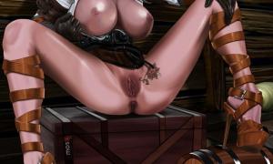 Рисованное порно 485
