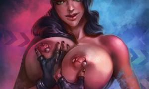 Рисованное порно 799