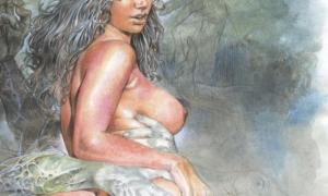 Рисованное порно 887