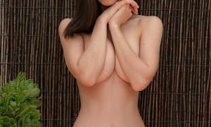 Красотка с тонкой талией и пухлой грудью фото